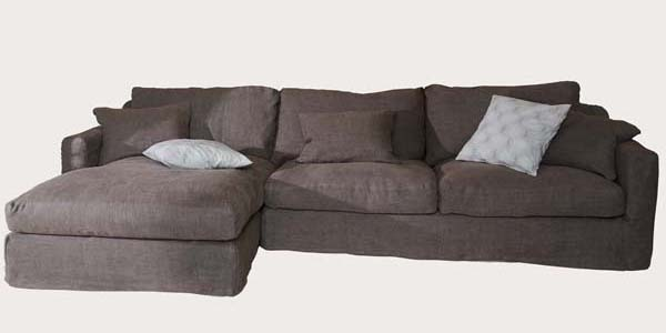 Biscarosse sofa with daybed